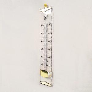 TFA Plexiglas Thermometer goud binnen