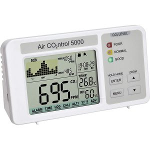 TFA Aircontrol 5000 CO2 Analyser met data logger
