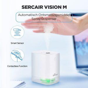 SERCAIR VISION mini desinfectie dispenser