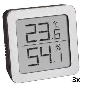 TFA Set van drie thermo- hygrometers