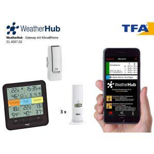 TFA Weatherhub SmartHome systeem KlimaHome