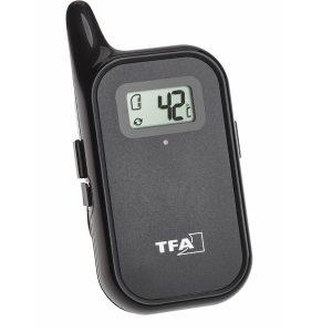 TFA Draadloze vlees-barbecue thermometer Keukenchef Twin