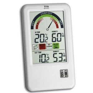 TFA Thermo-hygrometer Bel-Air met ventilatie advies